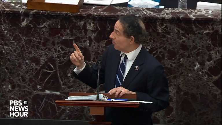 WATCH: Rep. Raskin gives closing argument | Second Trump impeachment trial