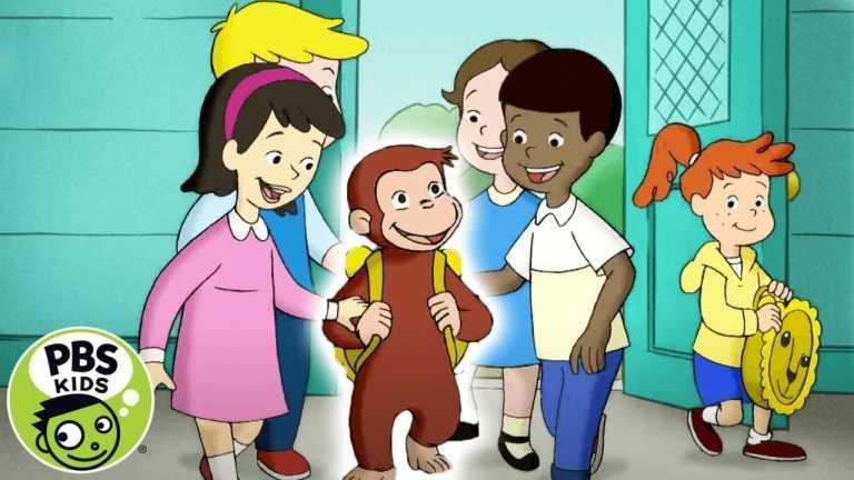 Curious George | George Goes to Kindergarten | PBS KIDS