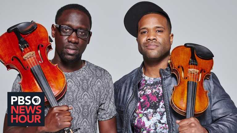The musical duo Black Violin's Brief But Spectacular take on defying stereotypes