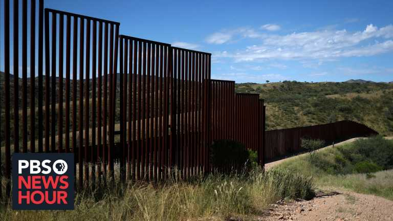 Arizona community divided over border wall after Biden's policy changes