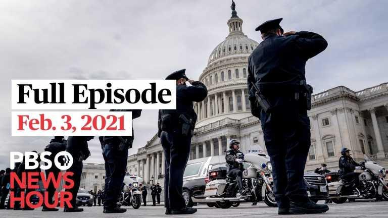 PBS NewsHour West live episode, Feb. 3, 2021