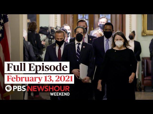 PBS NewsHour Weekend Full Episode February 13, 2021