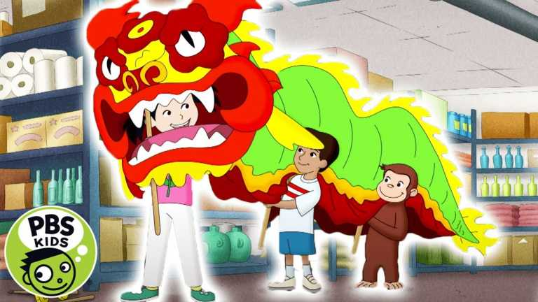 Curious George | Gung Hay Fat Choy! Happy Chinese New Year! | PBS KIDS