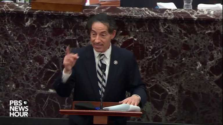 WATCH: 'What is impeachable conduct, if not this?' Rep. Raskin says