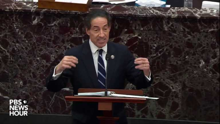 WATCH: Trump's absence during insurrection 'central' to his incitement, says Rep. Raskin