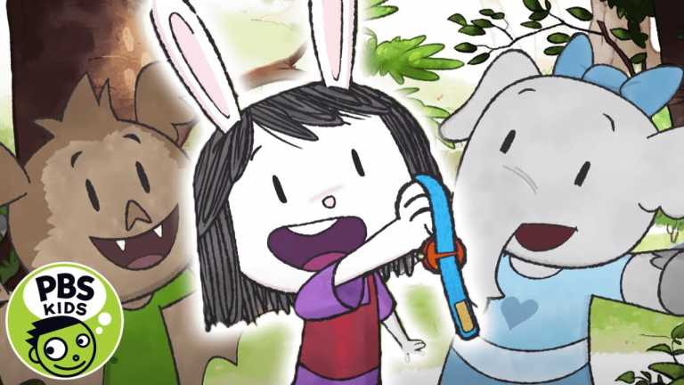 Elinor Wonders Why | A Sticky Mystery! | PBS KIDS