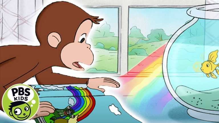 Curious George | George Discovers How a Rainbow is Made | PBS KIDS