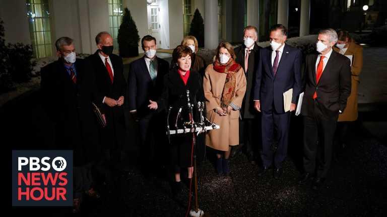 Democrats and Republicans prepare arguments for Trump's second impeachment trial