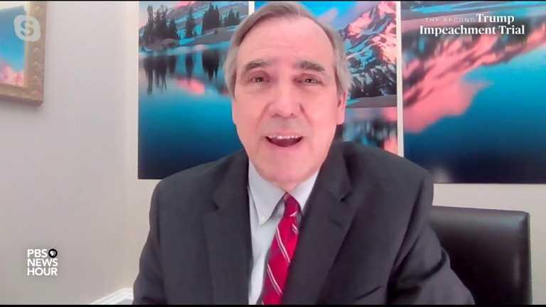 WATCH: Sen. Merkley speaks about how Senate should handle impeachment witnesses