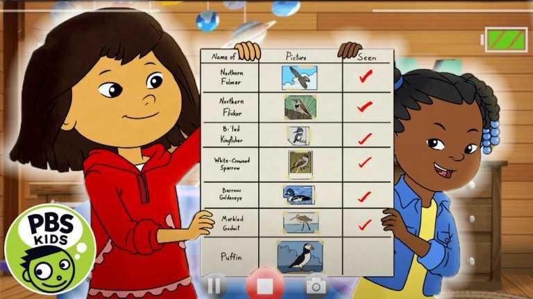 Molly of Denali | Molly and Trini's Bird List! | PBS KIDS