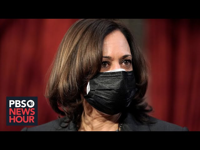 Vice President Harris casts her first tie-breaking vote