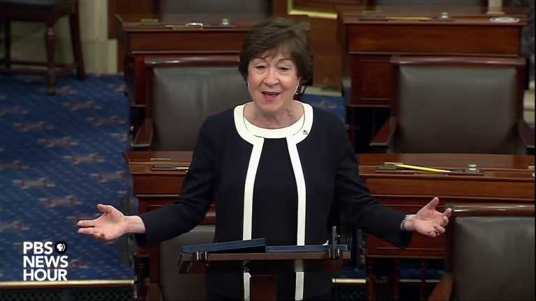 WATCH: Republican Sen. Collins on why she voted to convict | Second Trump impeachment trial