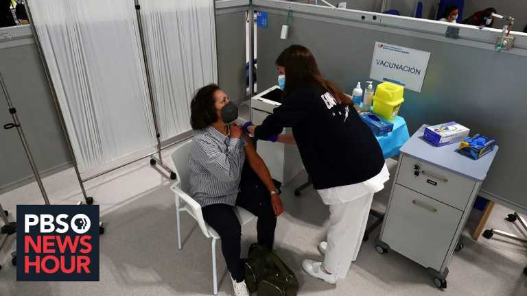 Amid third wave, European Union running behind as vaccine rollout faces challenges
