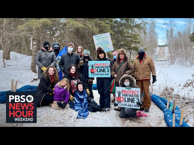 The next big oil pipeline battle is brewing over Line 3 in Minnesota