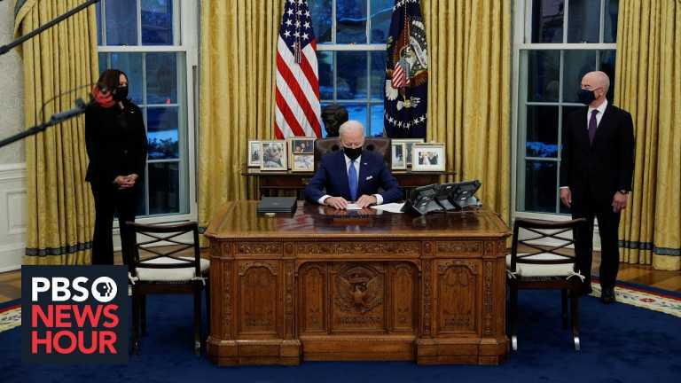 Biden rolls back Trump's immigration policies with a raft of initiatives
