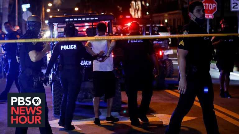 News Wrap: Thousands of spring break revelers force Miami Beach to enforce curfew
