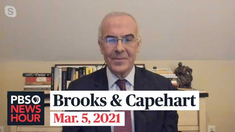 Brooks and Capehart on the COVID relief debate and the political divide on voting rights
