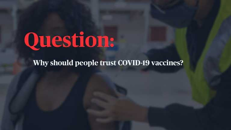 WATCH: How do I find trustworthy information about the COVID-19 vaccine?