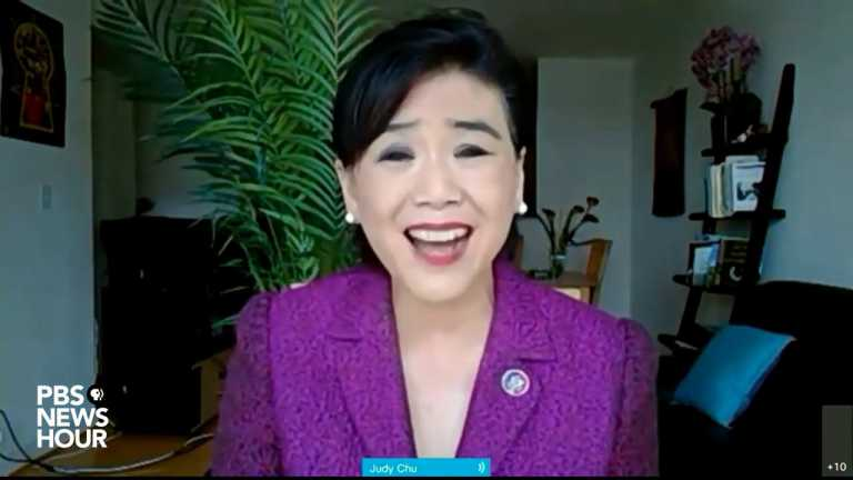 "WATCH: Rep. Judy Chu says Asian Americans cannot be ""used as scapegoats in times of crisis"""