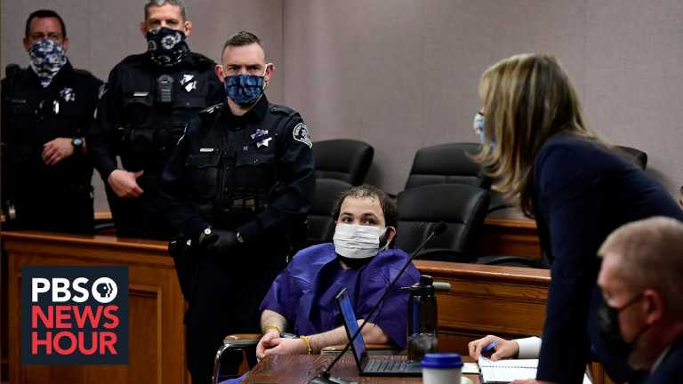 News Wrap: Boulder shooting suspect's case could take a year to try