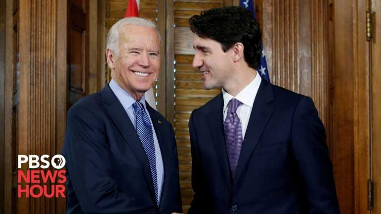 WATCH: Biden and Trudeau give statements on bilateral meeting