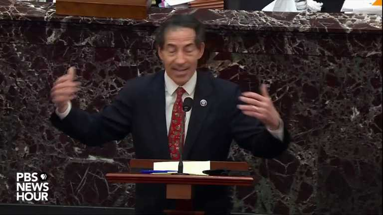 WATCH: Rep. Raskin answers question on First Amendment arguments