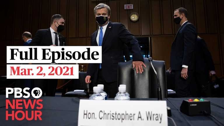 PBS NewsHour full episode, Mar. 2, 2021