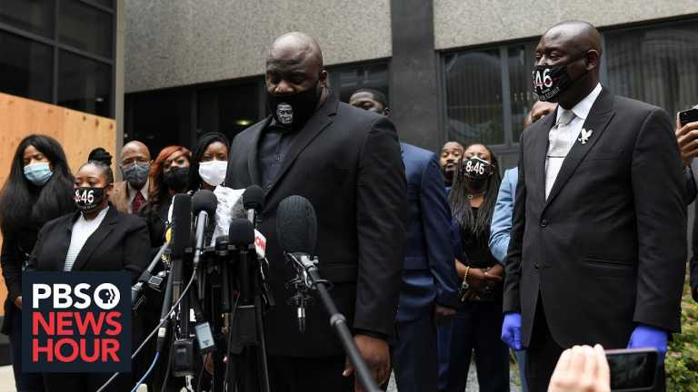 News Wrap: Minneapolis to pay $27 million to settle lawsuit with George Floyd's family
