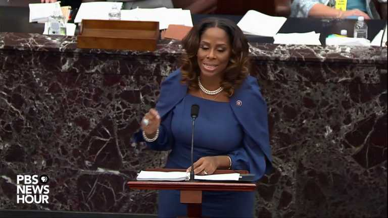 WATCH: Del. Stacey Plaskett argues that Trump 'deliberately incited' Jan. 6 attack
