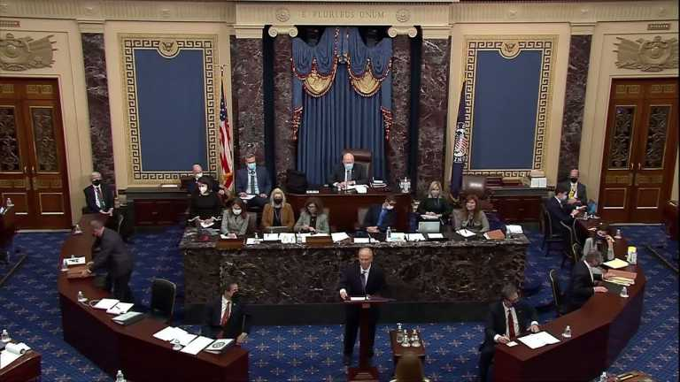 WATCH: David Schoen defends Trump in Senate impeachment trial