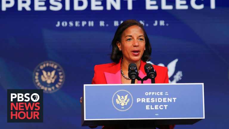 White House adviser Susan Rice on expanding opportunities for Americans