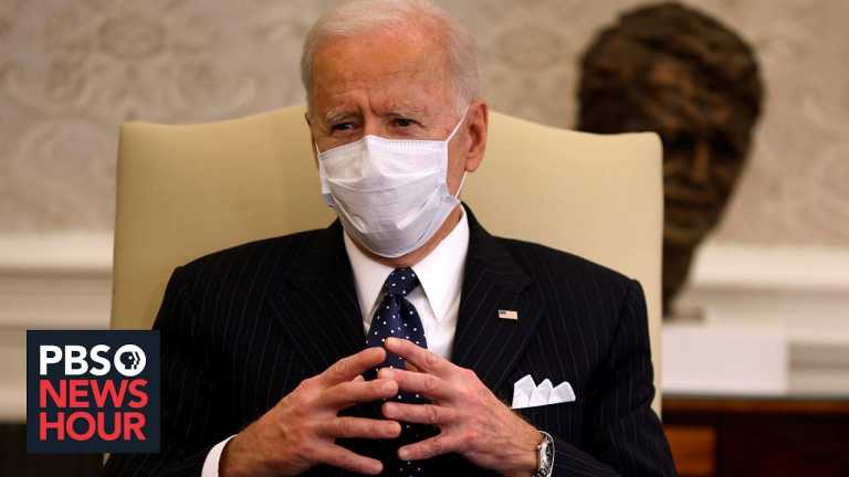 News Wrap: Biden backs $1,400 stimulus payments for some Americans