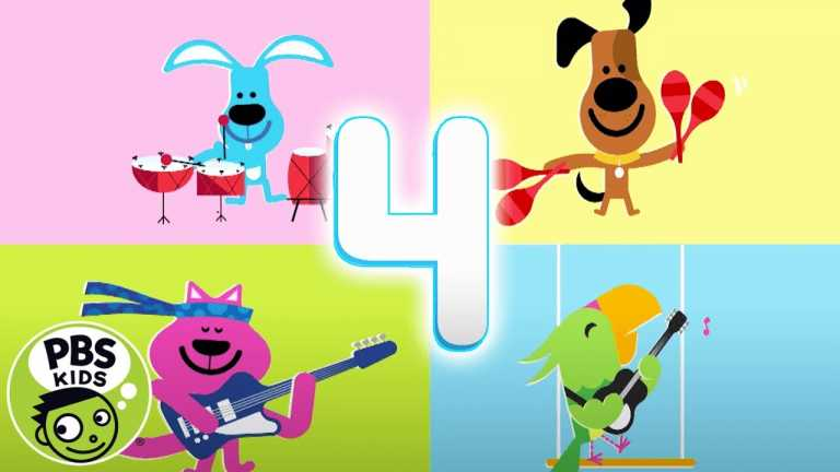 Sesame Street   4 Music Notes   PBS KIDS
