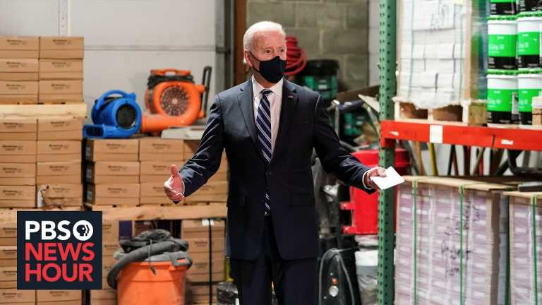 With a stop in Pennsylvania, Biden begins his pitch to Americans on new COVID relief law