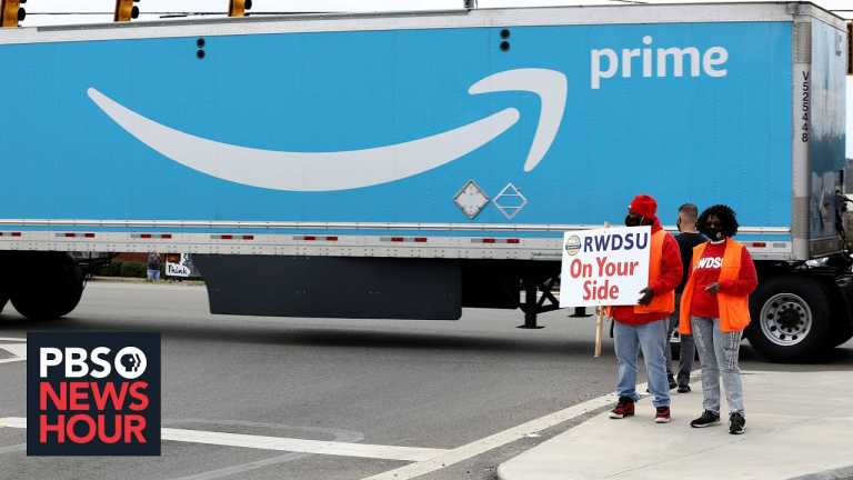 A look into Amazon's employee conditions as the company pushes back against unionization