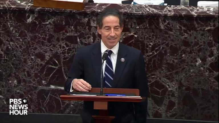 WATCH: Rep. Raskin says it's unprecedented for a president to incite violence