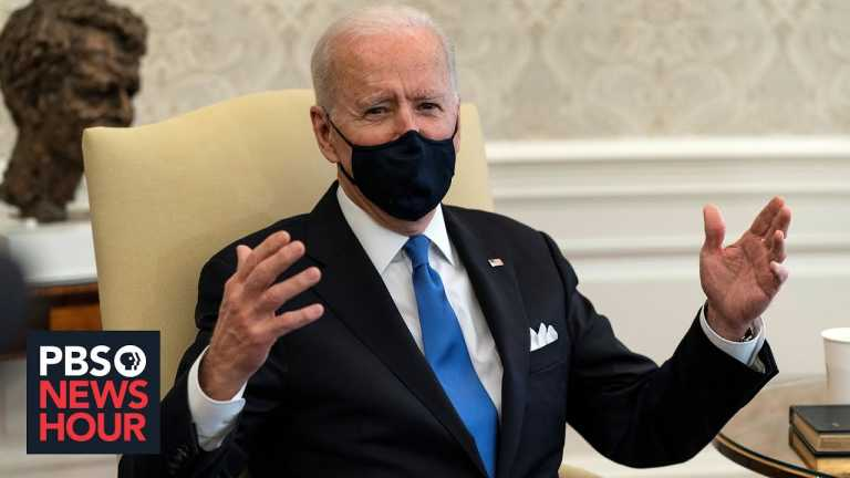 News Wrap: Biden denounces loosening of COVID restrictions in some states