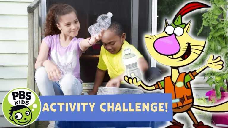 Activity Challenge! | Nature Cat's Litter Crusade Brigade! | PBS KIDS