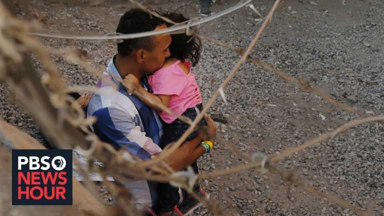 Biden administration scrambles to respond to surge of migrant children at the U.S. border