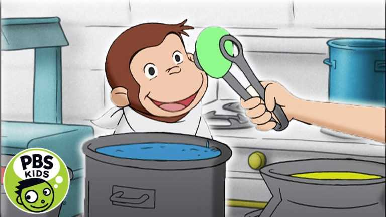Curious George | George Dyes Eggs with His Friends | PBS KIDS