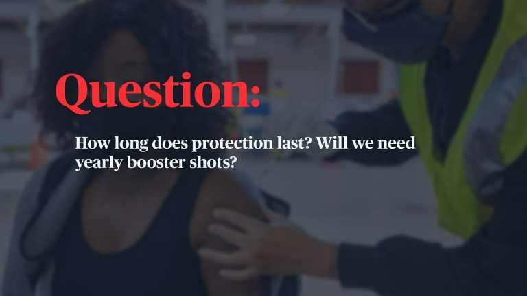 WATCH: How long does protection from a COVID-19 vaccine last? Will I need a booster?