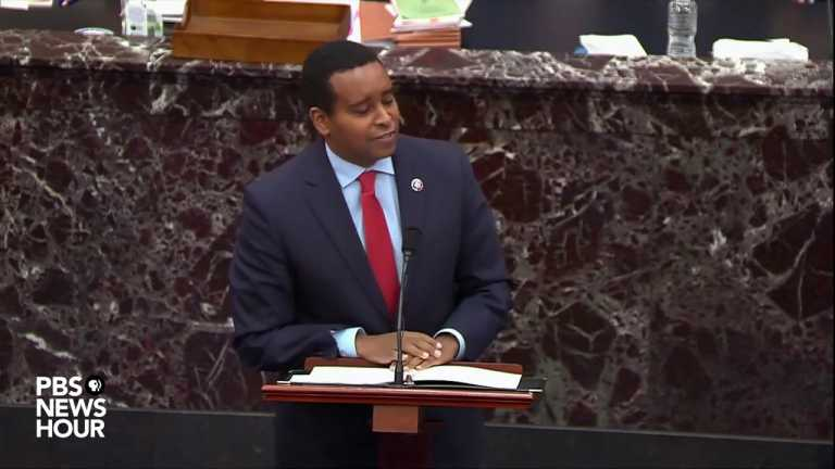 WATCH: Rep. Neguse says arguments from Trump's legal team 'would flip the Constitution upside down'