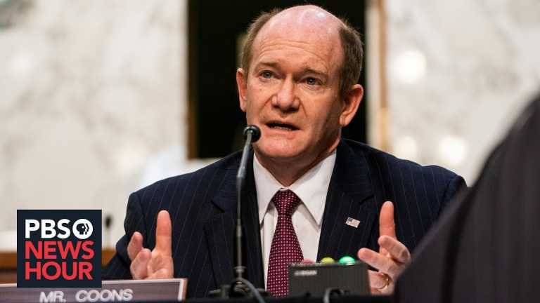 Sen. Chris Coons: Covid relief will 'lead to a strong recovery'