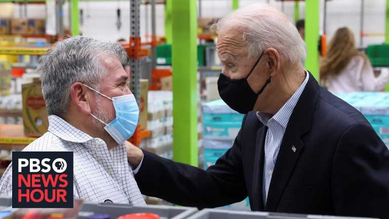 Biden visits Texas to survey the damage from devastating storm