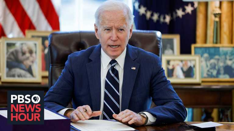 Biden to address the nation after signing historic COVID relief bill into law