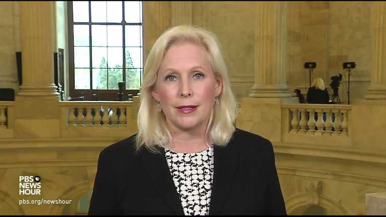 WATCH: Cuomo has lost support after misconduct allegations, Sen. Kirsten Gillibrand says