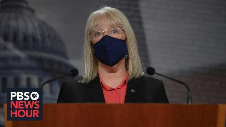 Sen. Patty Murray recounts her narrow escape from a violent mob inside the U.S. Capitol