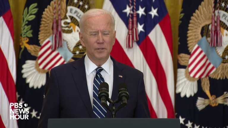 WATCH: Biden says he can make progress on climate, immigration, gun control and voting rights
