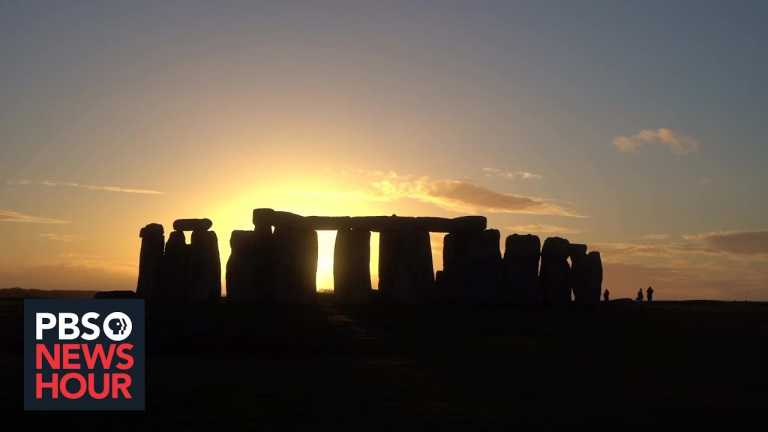 Ancient Stonehenge faces modern problems with plans for a nearby tunnel to ease traffic