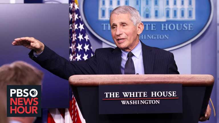 Fauci on the efficacy of new vaccines and preparing for coronavirus variants